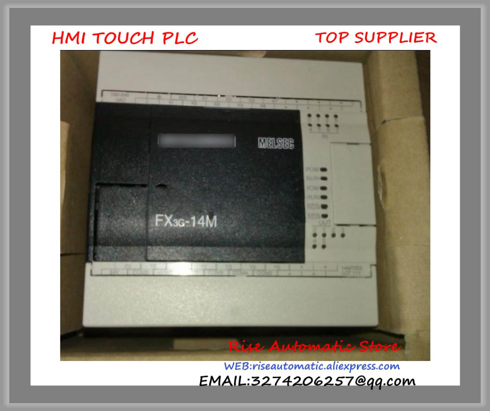 New Original Programmable Logic Controller Module FX3G-14MR PLC 100-240VAC Main Unit new original programmable logic controller module 1794 tb3g plc cage clamp terminal base