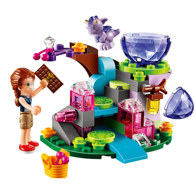 StZhou 83pcs Elves Emily Jones & the Baby Wind Dragon Building ...
