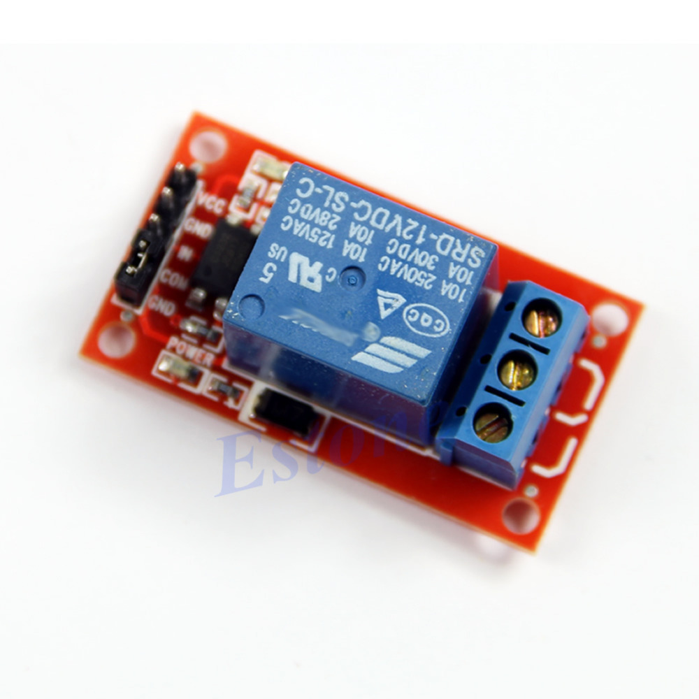 Y92 inch New 1-Channel H/L Level Triger Optocoupler Relay Module Arduino 12V - on sale store