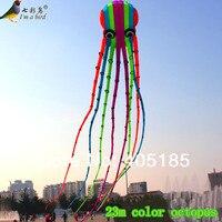 Спорт на открытом воздухе высокого качества 23 м Мощный воздушный змей программного обеспечения Осьминог Летающий