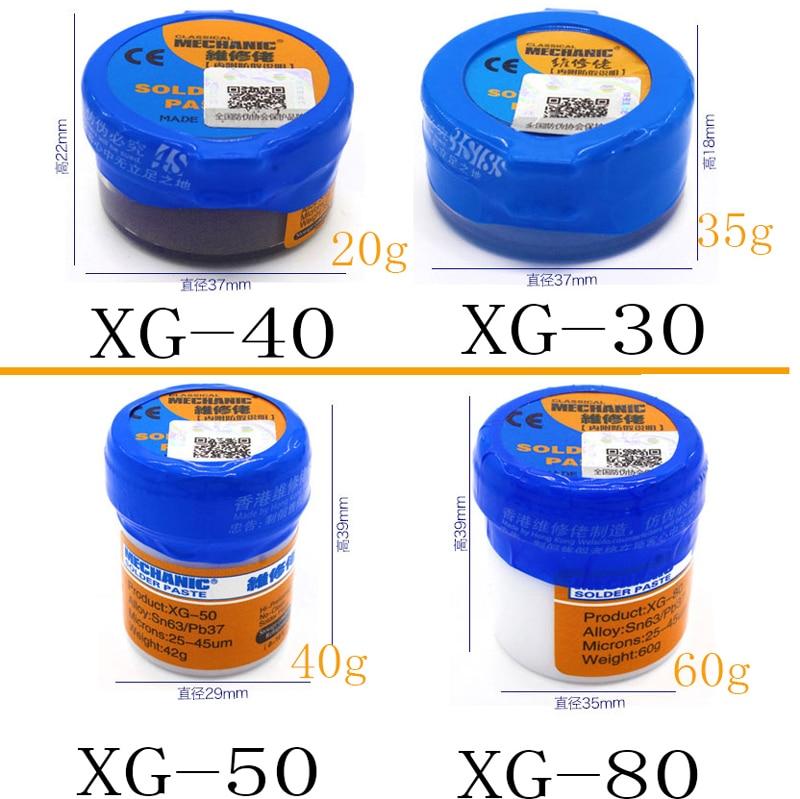 Jyrkior MECHANIC Soldering Solder Welding Paste Flux SMD SMT Sn63/Pb37 Tool Soldering Iron Flux Repair Tool
