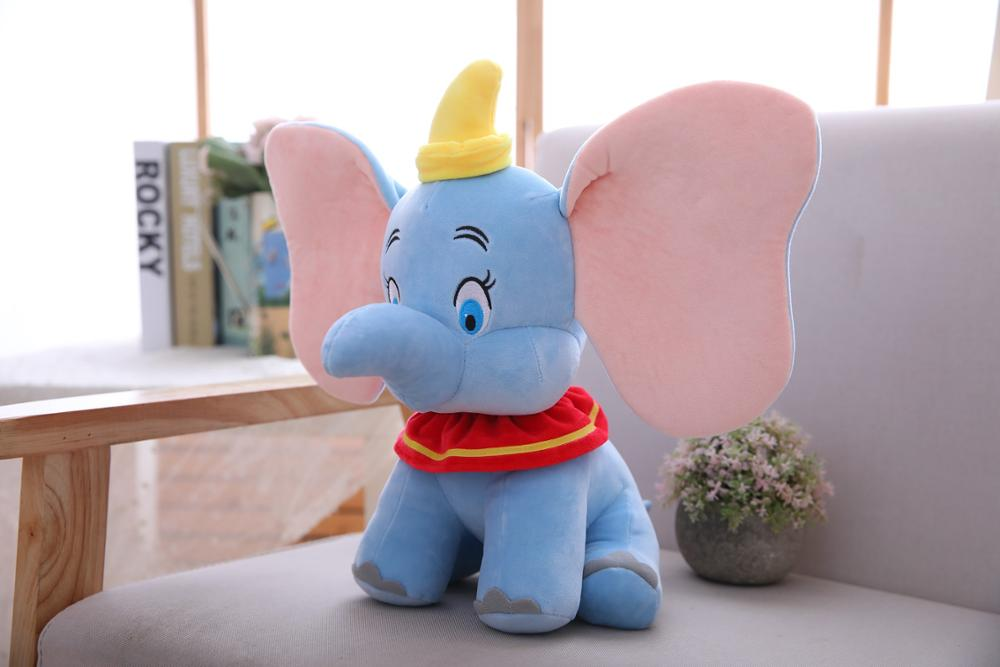 2019 New 25/30/35/50cm Dumbo Plush Toys Baby Toy Gift Fill Doll Christmas Gift Home Furnishing Supplies