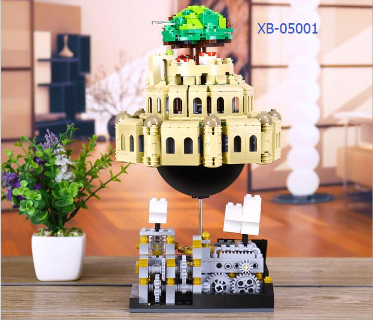 Xingbao Blocks Plastic Building Toy City In Sky Model Genuine Creative Educational Kids toys Children Gifts for lover XB05001 lepin city town city square building blocks sets bricks kids model kids toys for children marvel compatible legoe