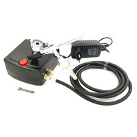New Dual Action Airbrush Air Compressor Kit Spray Gun For Art Painting Tattoo Manicure Craft Cake