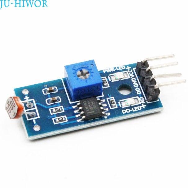 4-pin Photoresistor Sensor Module Light Detection Sensor 4 Feet For Smart Car Accessories For Arduino