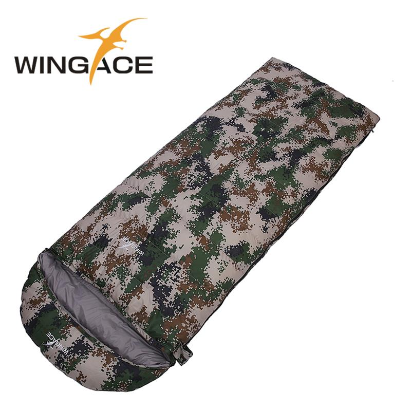 Fill 2500G 3000G 3500G 4000G Outdoor Camping Adult Envelope goose down hiking Winter Warm Splicing Camouflage Sleeping Bags naturehike goose down sleeping bag adult waterproof travel outdoor camping hiking warm winter envelope ultralight sleeping ba