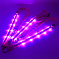 Ebuy360 Double LED House Riding Halter Outdoor LED Light Harness Equestrian Horse Horse Chest Belt