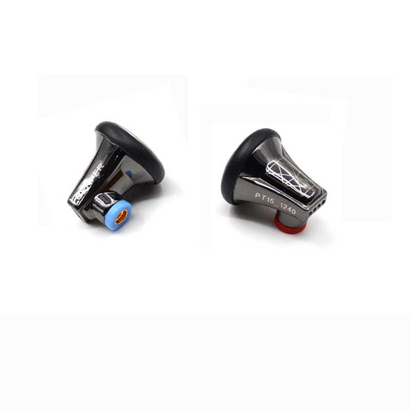 2019 senfer pt15 Pro 32 ohm plat zestaw słuchawkowy nowych materiałów grafenu dynamiczny napęd HIFI w ucho słuchawki douszne słuchawki MMCX kabel mikrofonowy