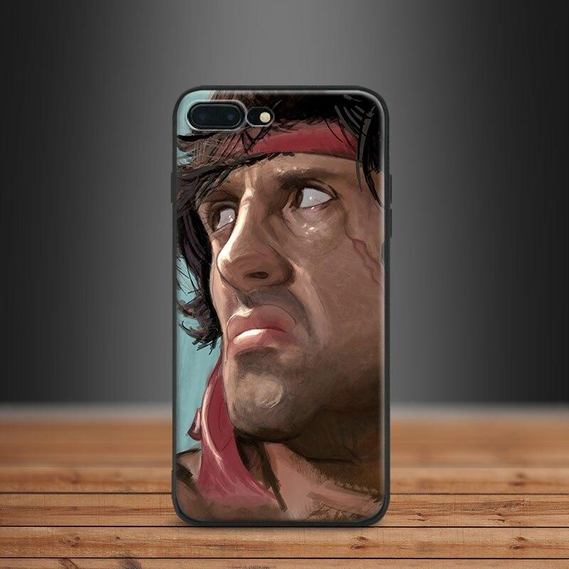 coque iphone 7 rambo