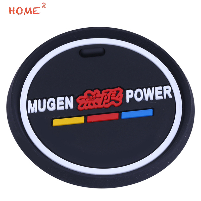 Car Styling Anti-Slip Pad PVC Glass Non-slip Mat Interior Accessories for Mugen Power Logo for Honda H-RV Odyssey Insight CRZ frp fiber glass nobless style front grill fiberglass racing grille grills accessories fit for honda odyssey rc1 car styling
