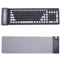 Foldable 2 4G Keyboard font b PC b font Computer Typing Device Water Resistant