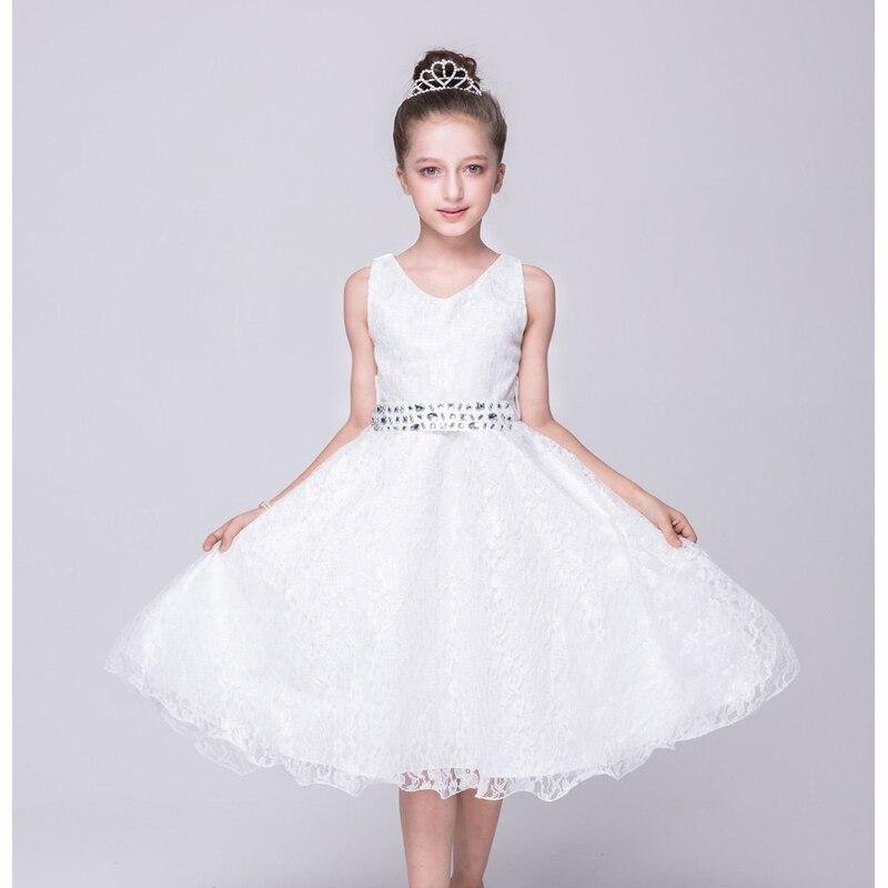 Princeses meitene bez kakla ar piedurknēm, brīnišķīgām, ziedu - Bērnu apģērbi - Foto 5