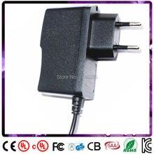 Frete grátis ac dc adaptador de 21 v 400ma 0.4a 8 w adaptador DA UE de entrada para 100 240 v ac 5.5×2.1mm 0.9 m DC cabo de Alimentação do transformador