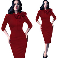 Плюс Размеры платье 2018 Для женщин Осень Bodycon туфли из органической кожи пикантные Vestidos мода Повседневное лук платье миди