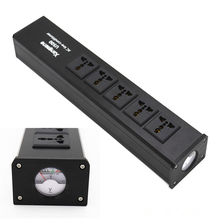 цена на High-End Audio Noise Filter, AC Power Conditioner, Power Filter, Power Purifier with US Outlets power strip