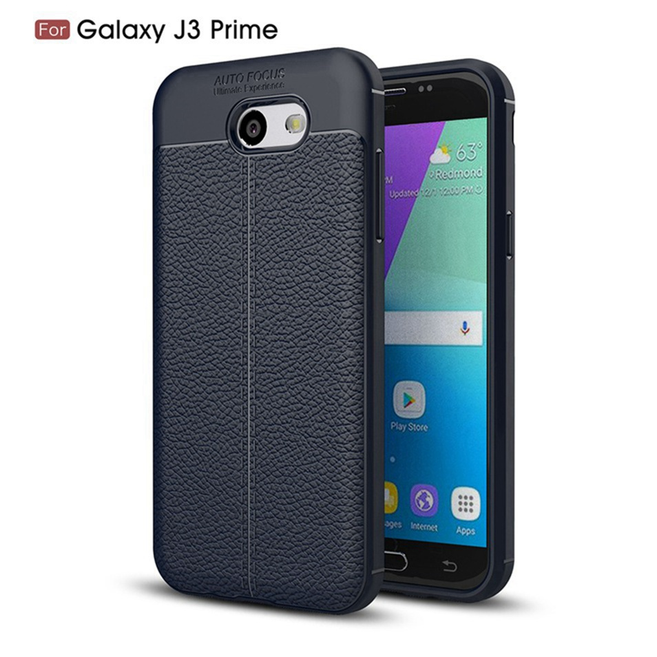 WhaY Explorer Case For Samsung Galaxy J3 Prime Cover Luxury Leather TPU Silicone Back Cover For Samsung J3 Prime Cases Fundas    (5)