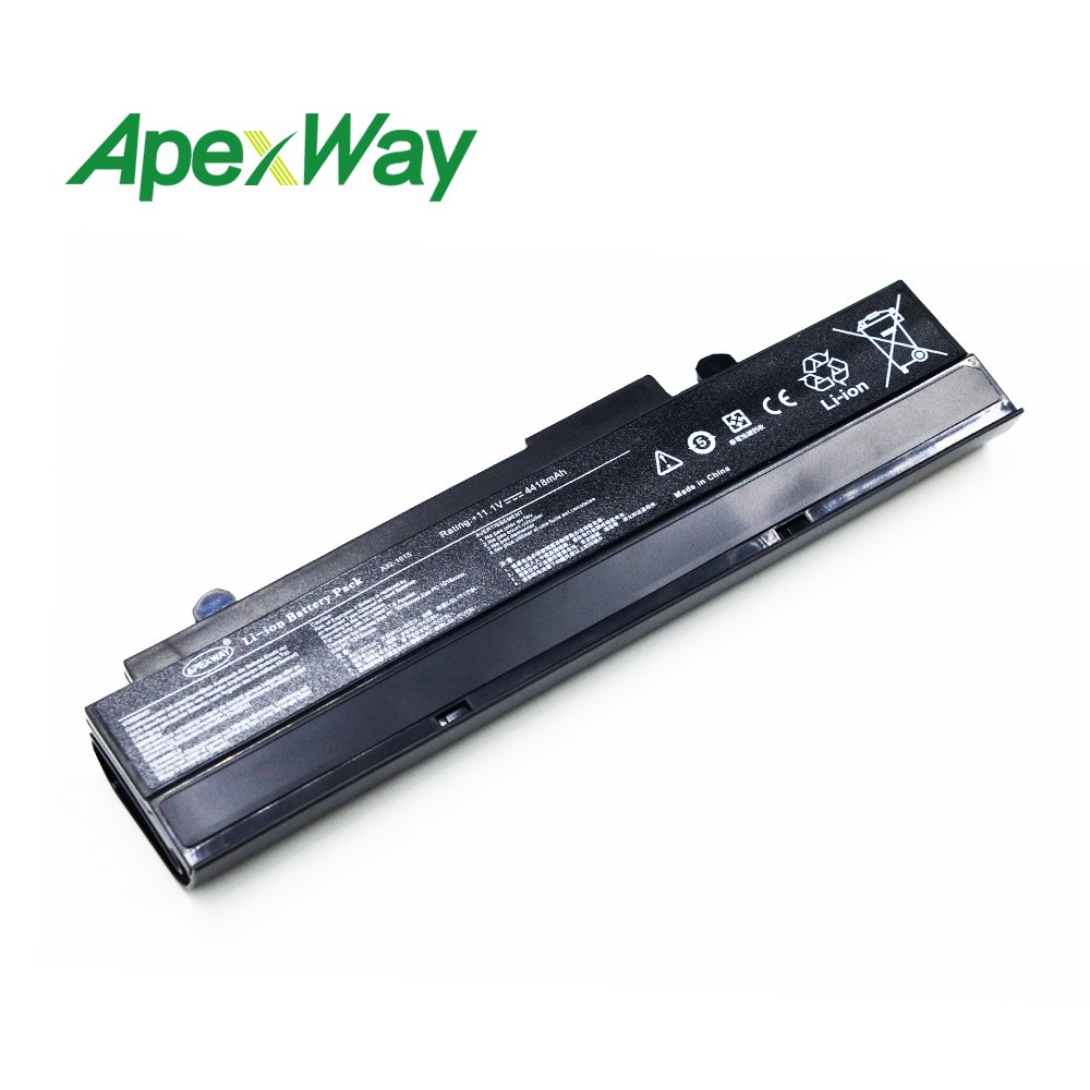 11.1v Laptop Black Battery for ASUS <font><b>A32</b></font>-<font><b>1015</b></font> AL31-<font><b>1015</b></font> for Eee PC <font><b>1015</b></font> 1016 1011 1011B 1011C <font><b>1015</b></font> 1015PD 1215 1215T R011P R051P image
