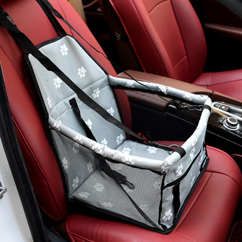 Folding Dog Seat Cover With Adjustable Buckle Design Suitable for All Cars