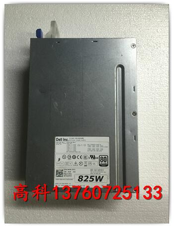 Free shipping DELL T5600 T5610 Workstation 825W Power Supply DR5JD CVMY8 D825EF 00