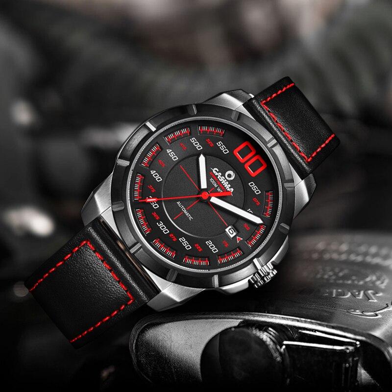 CASIMA 2017 New design luxury brand Sport Automatic mechanical watch fashion sports waterproof watches men relogio masculino