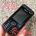 Reformado teléfono celular original de nokia n70 mobile inglés ruso teclado del teléfono