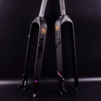 Hot Sale! 26 /27.5/29er Full Carbon Fiber Hard Mountain Bike Fork Carbon Fork mtb Bike Fork
