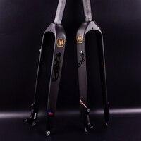 Hot Sale! 26 /27.5/29er Full Carbon Fiber Hard Mountain Bike Fork Carbon Fork mtb Bike Fork