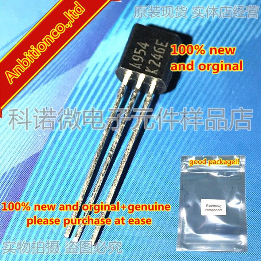 10pcs 100% New And Orginal 2SA954 A954-K/L TO-92 In Stock