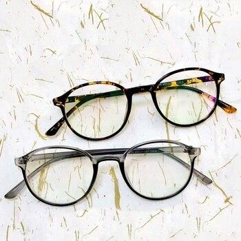 2019 Fashion Women Glasses Frame Men Eyeglasses Frame Vintage Round Clear Lens Glasses Optical Spectacle Frame Transparent