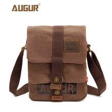 Купить с кэшбэком AUGUR men's travel bags cool sport Canvas bag fashion men messenger bags high quality brand bolsa feminina shoulder bags 9150