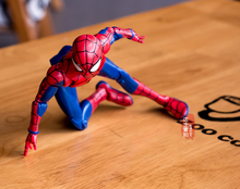 Anime comic super hero figure Le avenger spiderman mobile action figure collection modèle jouets pour garçons