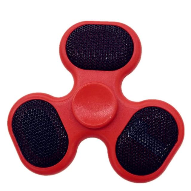 Bluetooth Lautsprecher Musik Herumzappeln Spinner Led-Licht Finger Edc Hand Toy