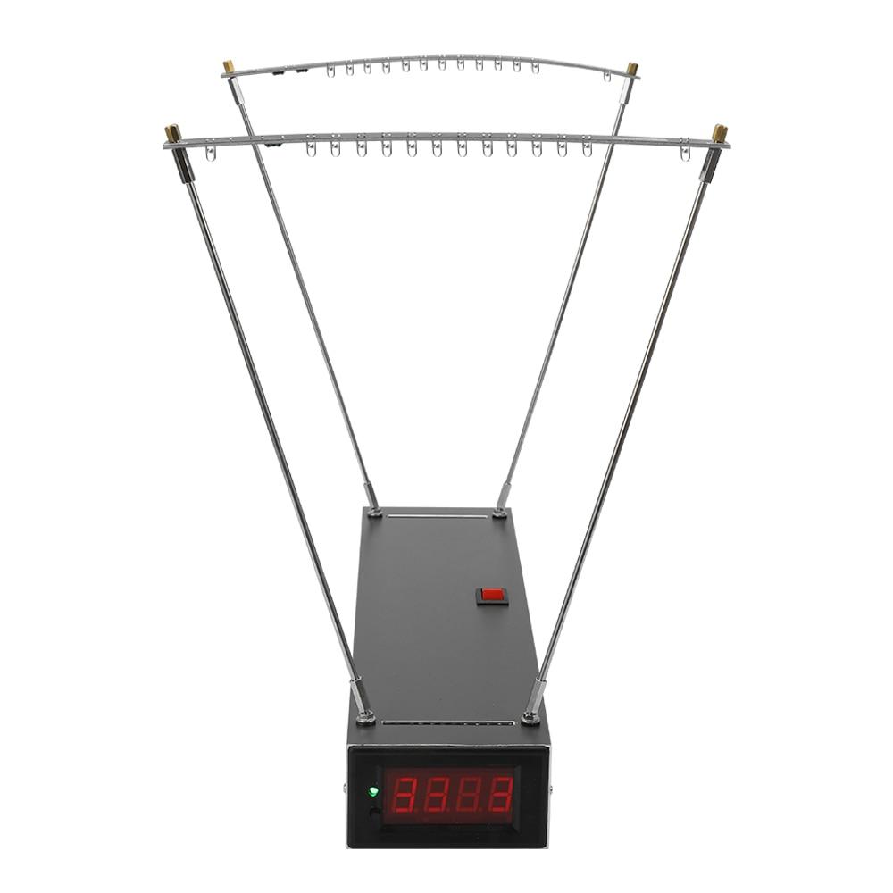 クロノグラフ撮影遊具スピードメーター速度測定パチンコ速度測定速度測定ツール + 3 個ライトストリップ  グループ上の ツール からの 速度測定器 の中 1