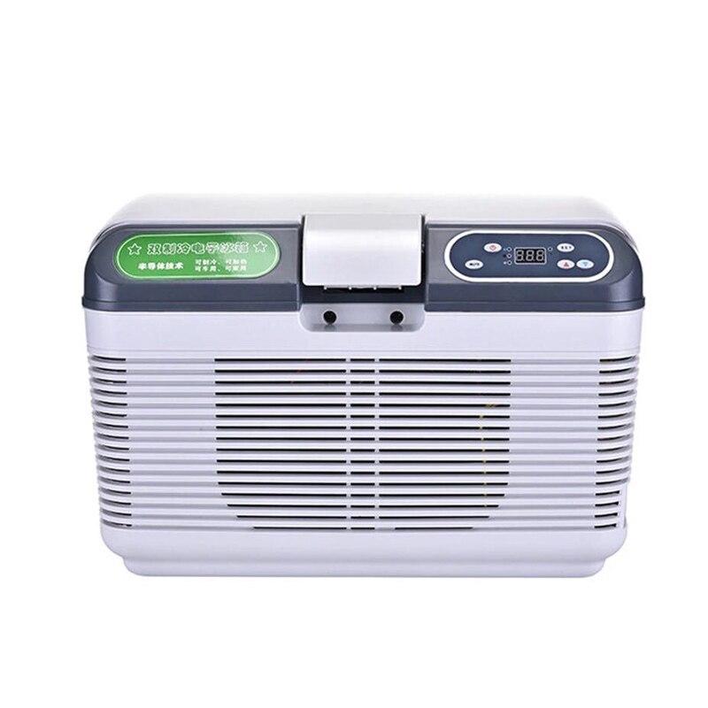 Refrigerador do carro 12 v/24 v que congela o compressor portátil 12l para o aquecimento da refrigeração da casa do carro-20 graus refrigerador do carro livre