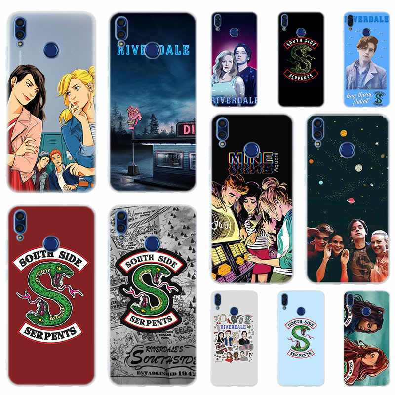 Riverdale South Side Serpents Soft Silicone Case Cover For Huawei Honor 9 10 Lite 6X 7X 8X Max Phone cases 7A 8A 8C V20 PLAY 10i