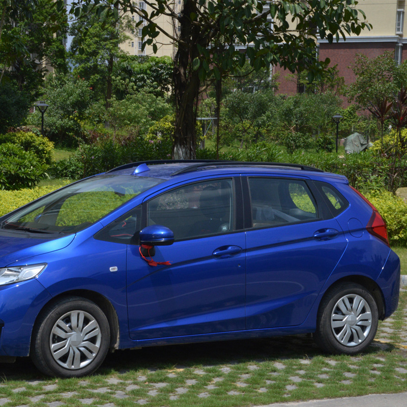 For Honda JAZZ FIT 2014 2017 Roof Rack Rails Bar Luggage Carrier Bars Top  Racks Rail Boxes Aluminum Alloy 3m Paste In Roof Racks U0026 Boxes From  Automobiles ...