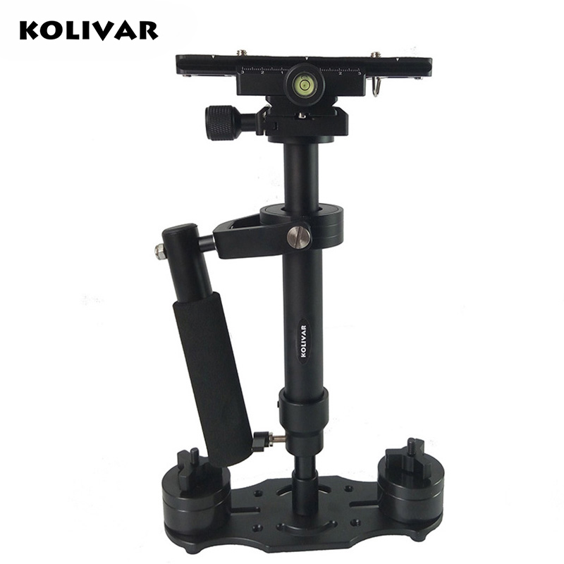 KOLIVAR S40 40cm Mini Professional Handheld Aluminum Steadicam Stabilizer for Canon Nikon Sony DSLR Camera Video DV Steadycam