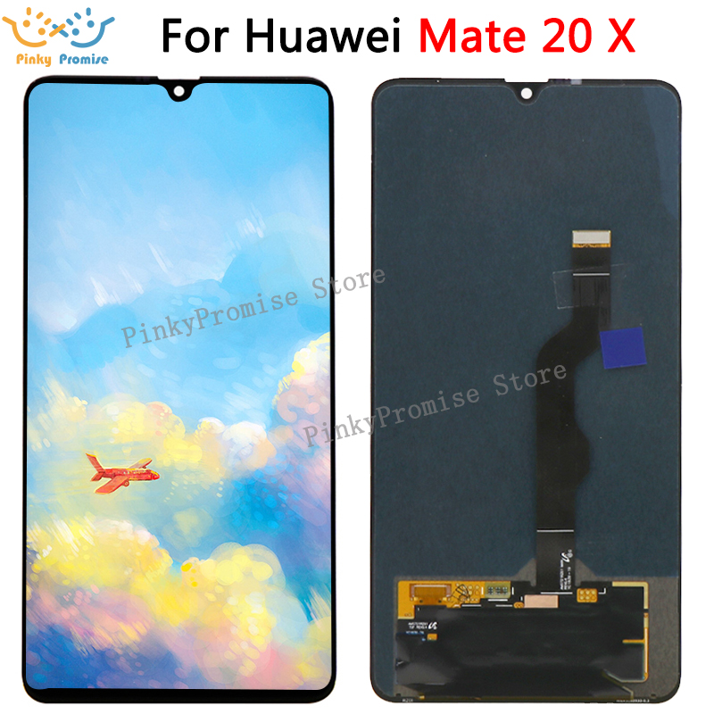 For Huawei Mate 20 X LCD Display Touch Screen Digitizer Assembly For Huawei Mate 20X LCD