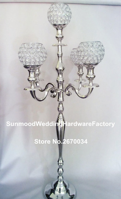 Flower Stand Designs : Sliver iron not gold tall flower stand designs for weddings