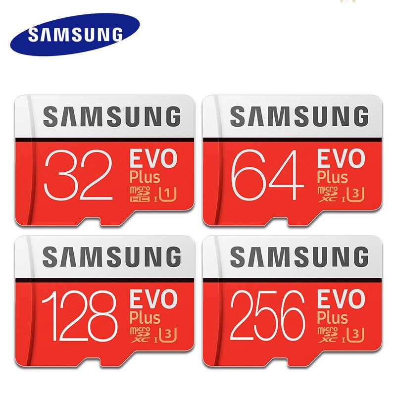 Карта памяти Samsung micro sd 32 Гб U1 micro sd карта 64 Гб 128 ГБ 256 ГБ U3 cartao de memoria EVO tarjeta micro sd класс 10 microsd