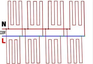Image 4 - أحمر سيليكون المطاط الأشعة تحت الحمراء البعيدة غرفة أرضية دافئة ترموستات كابل التدفئة ألياف الكربون