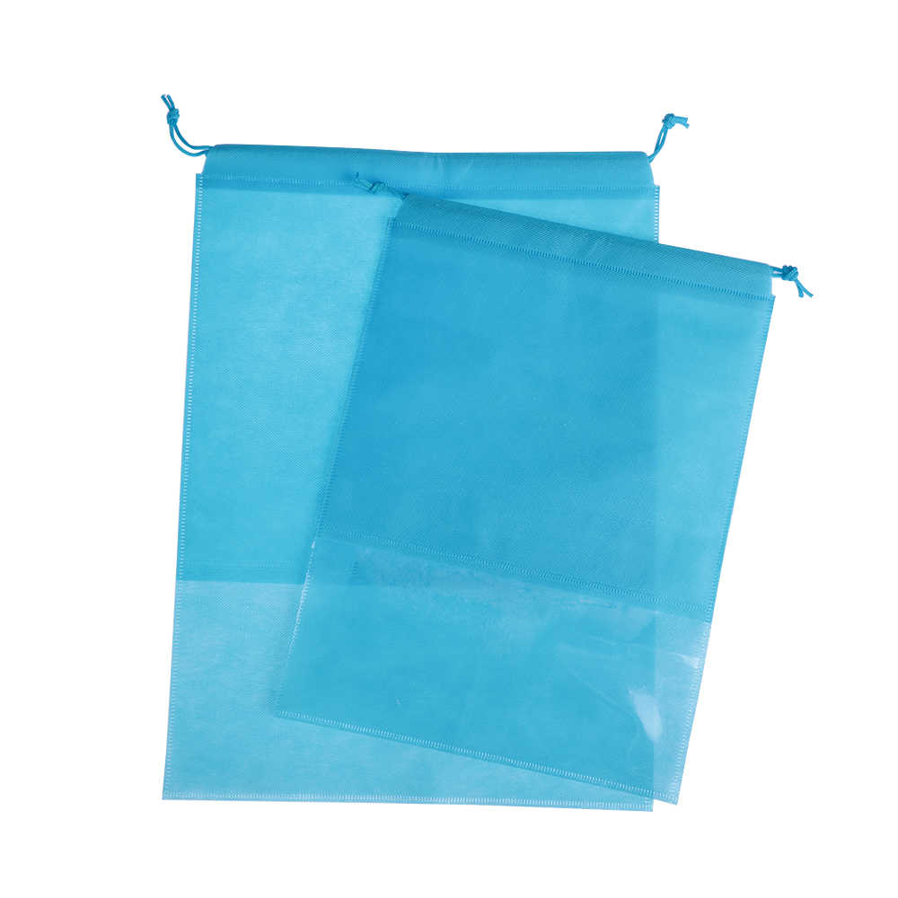 1PC Waterproof Shoes Storage Bag Pouch Portable Travel Organizer Drawstring Bag Cover Non-Woven Laundry Pouch Home Tool