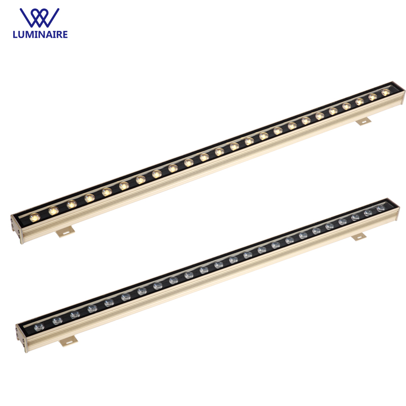 VW 24W LED Wall Washer Landscape light AC 85V-265V outdoor lights wall linear lamp floodlight ip67 wallwasher for buiding garden 4pc lot dhlfedex led light 30w led wall washer wash lamp garden park landscape lines square flood outdoor estadio building light