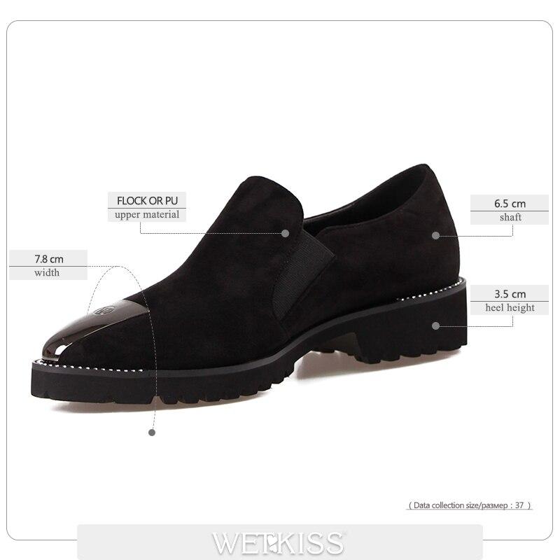 Nouvelle Black Wetkiss Chaussures On Bas Vente Femmes Flock Salto Carré Dames 2019 Arrivée Slip De Talons Talon Cristal RwYYqnT4