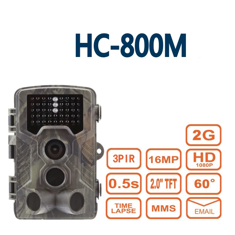 2018 New HC800M 12MP 940nm Trail Cameras MMS GPRS Digital Scouting Hunting Camera Photo Trap Night Vision Wildlife Camera hc300m trail cameras 12mp 940nm no glow mms gprs digital scouting hunting camera trap game cameras night vision wildlife camera