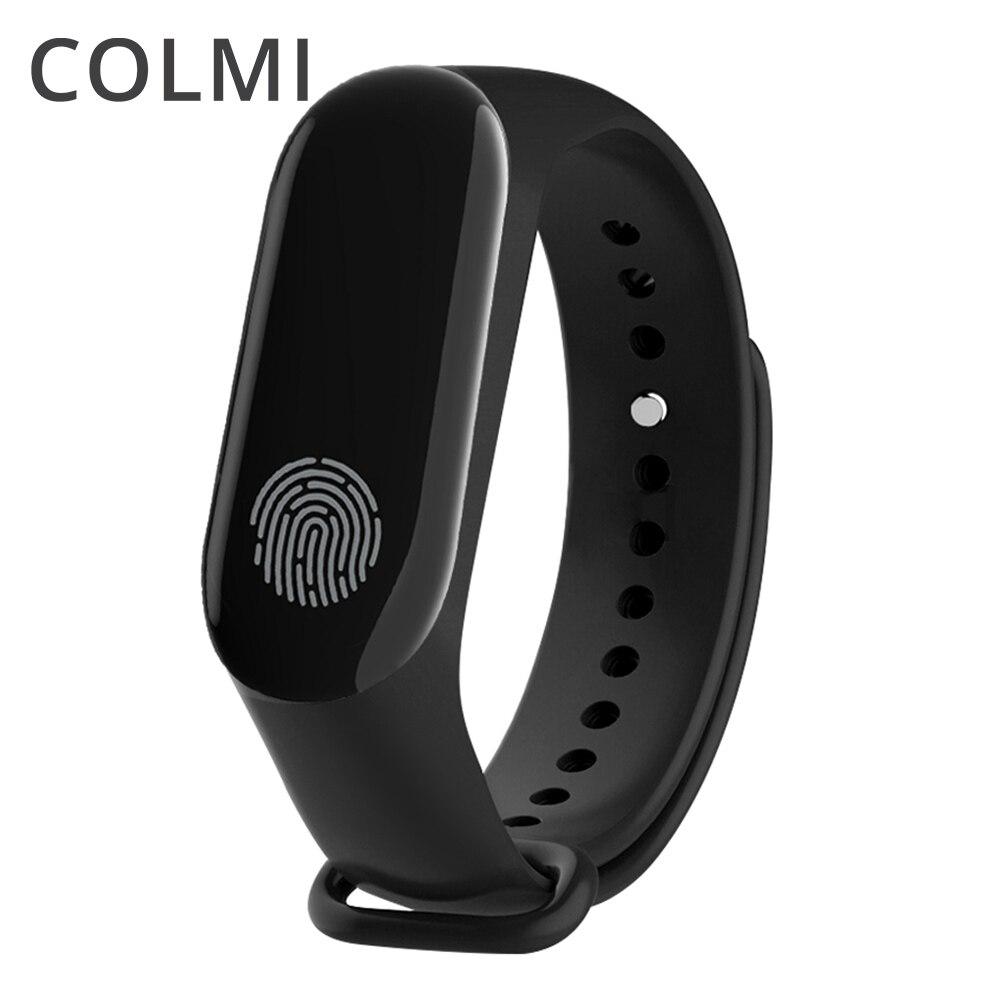 Colme de nuevo M3 Plus pulsera impermeable de Monitor de presión arterial de Deportes de OLED Tracker para IphoneAndroid
