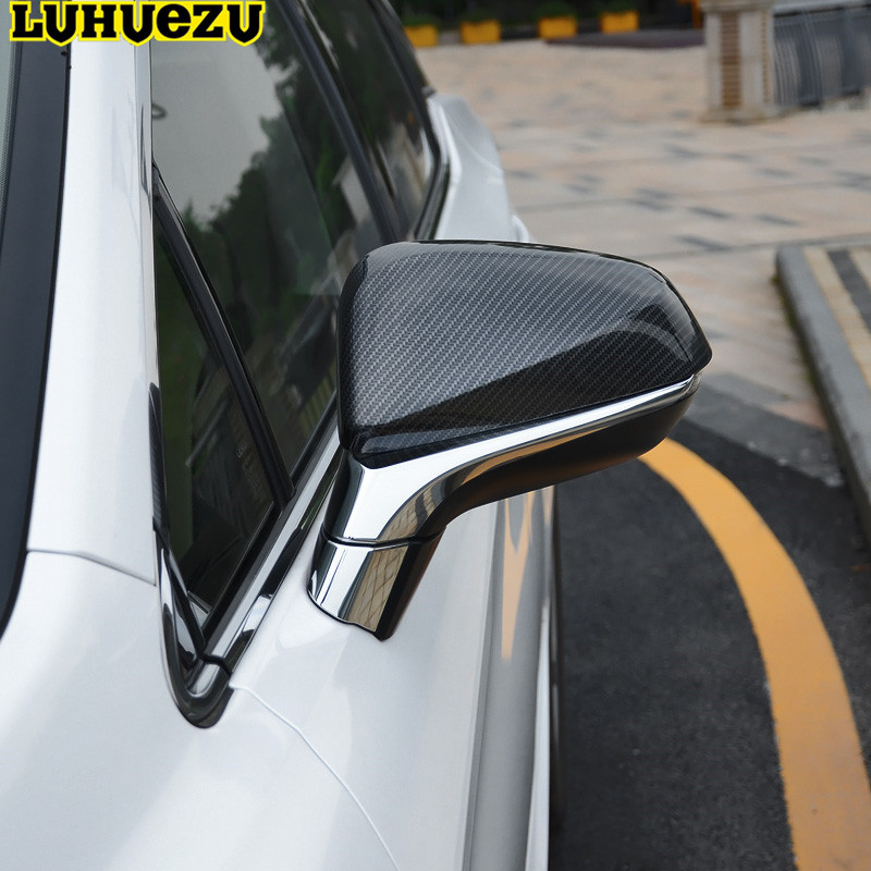 Luhuezu 2pc Chrome Door Mirror Cover Side Light Cover For LEXUS RX200T RX350 RX450H 2016 2017