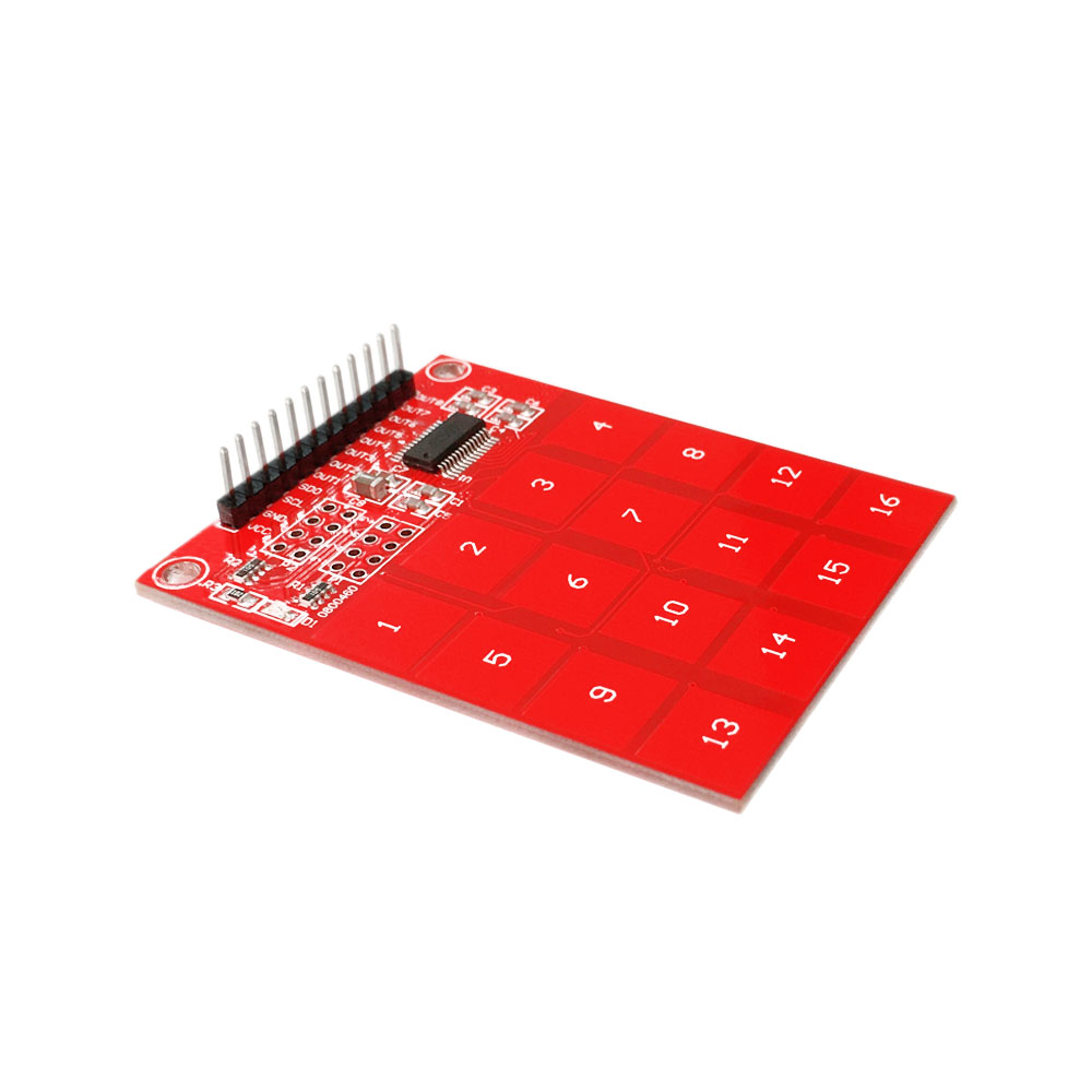 Keyes Logo 16 Key Ttp229 Capacitive Touch Switch Digital Sensor Module For Arduino In