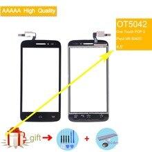 For Alcatel One Touch POP 2 Pop2 M5 OT5042 5042D 5042 Touch Screen Touch Panel Sensor Digitizer Front Glass Touchscreen цены онлайн