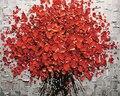 Framless Новый прибытие уникальный подарок Цифровая Живопись Маслом На Холсте живопись по номерам декоративные фотография 40 * 50-Flower 40X50 СМ G431